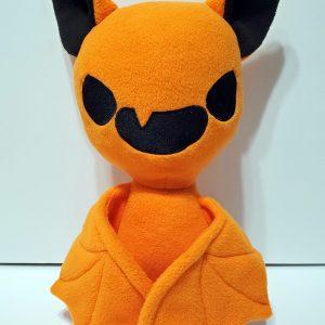 orange bat plush