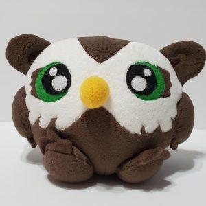 cute owl bear plush