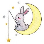 bunny with stars