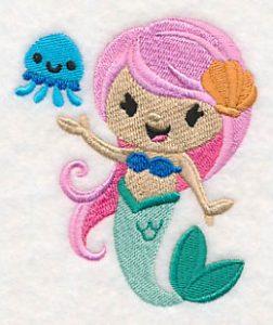 cute-mermaid-embroidery