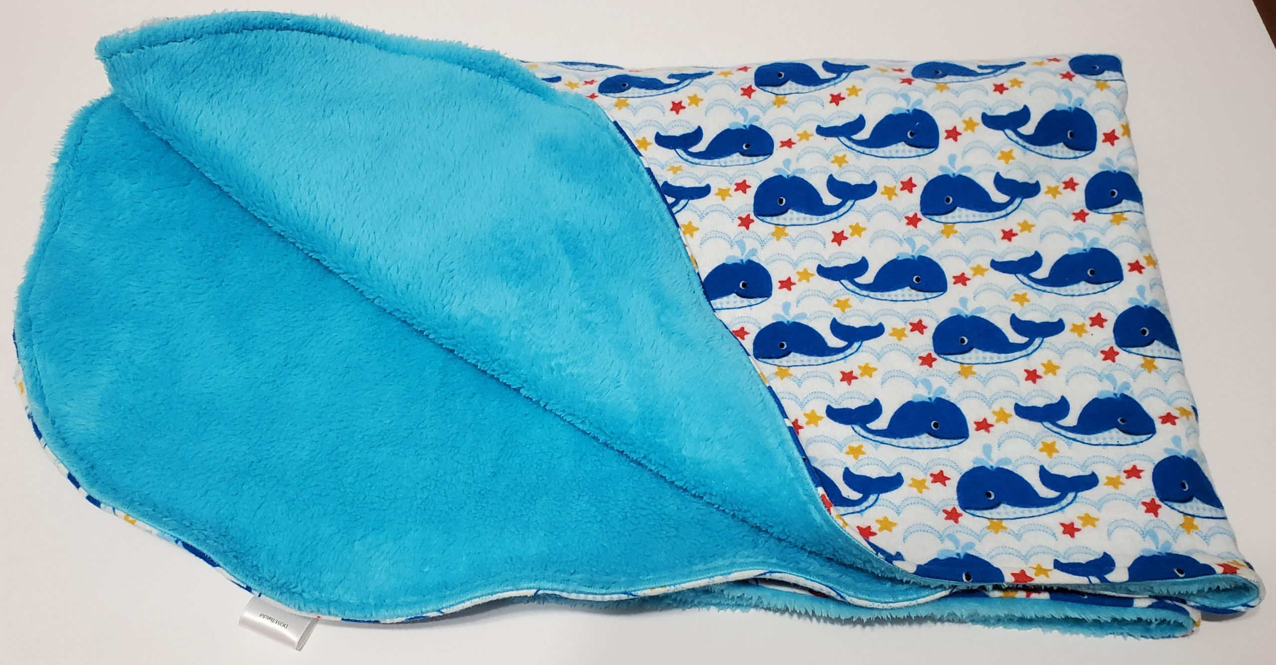 Star Whales double sided blanket