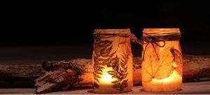 leaf-mason-jar-candles