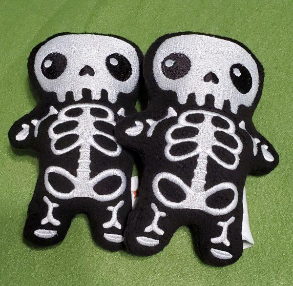cute skeleton plush