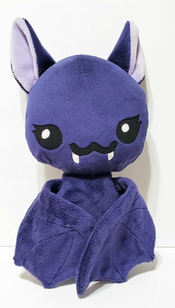 spooky cute bat plush