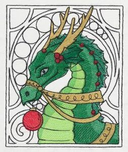 festive-christmas-embroidered-dragon
