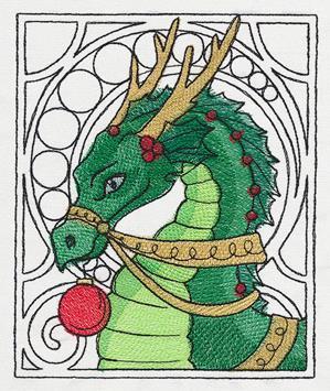 festive-christmas-embroidered-dragon