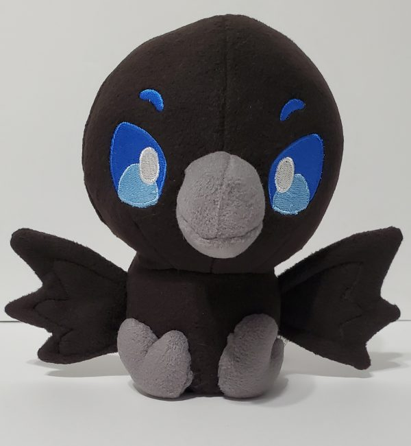 cute-black-raven-plush