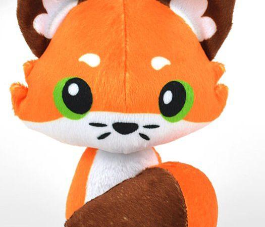 printed-fox-minky-plush